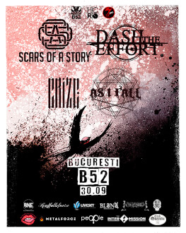 Dash the Effort / Scars of a Story / Crize / As I Fall