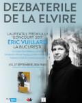 DEZBATERILE DE LA ELVIRE Cu Eric Vuillard – Premiul Goncourt 2017