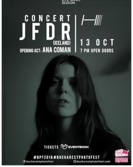 JFDR live at Bucharest Photofest 2018
