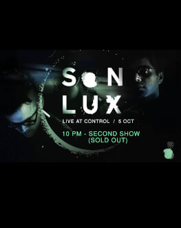 Son Lux at Control X SECOND SHOW 10 PM