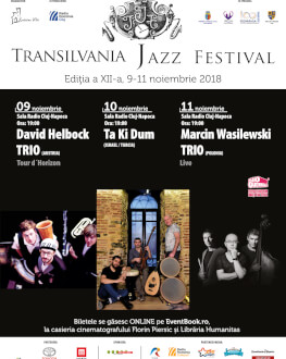 David Helbock Trio (Austria) Transilvania Jazz Festival 2018