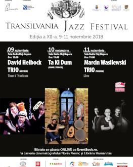 Abonament Festival TJF 2018 Transilvania Jazz Festival 2018