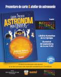 Ghidul micului astronom prin Univers Prezentare de carte & atelier de astronomie cu astronomul Adrian Șonka