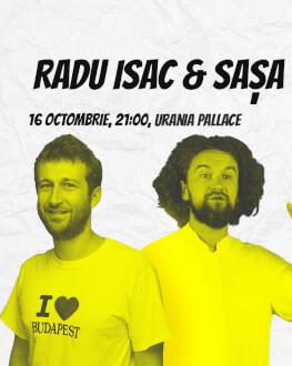 Radu Isac & Sașa Comedy Cluj 2018