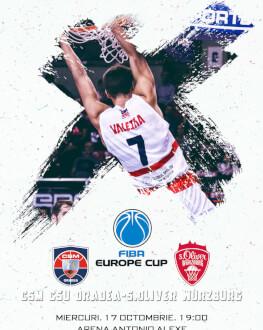 CSM CSU Oradea - s.oliver Wurzburg FIBA Europe Cup 2018/19, Etapa 1