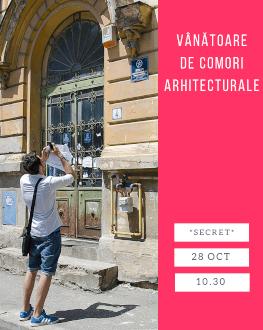 Vânătoare de comori arhitecturale într-o zonă secretă a Bucureștiului