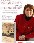 """Gabriela Adameșteanu despre """"Fontana di Trevi"""" Lansare de carte și sesiune de autografe"""