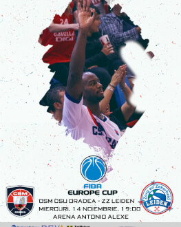 CSM CSU Oradea vs ZZ Leiden FIBA Europe Cup - editia 2018/19, Etapa 5