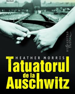 """""""Tatuatorul de la Auschwitz""""de Heather Morris,  bazat pe incredibila poveste a unui tatuator de la Auschwitz–Birkenau și a femei Lansare de carte"""