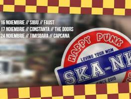 Ska-nk si Monokrom la Capcana + afterparty cu Elsaine (CA)
