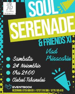 Soul Serende & Friends XI Invitat: Vlad Prisacariu