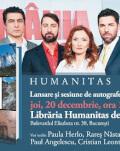 """""""România, te iubesc!"""", bestseller Humanitas la Gaudeamus 2018, lansare de carte și sesiune de autografe joi, 20 decembrie, ora 19, la Librăria Humanitas de la Cișmigiu"""