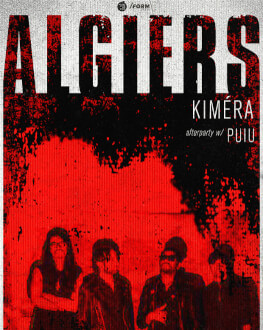 Algiers live