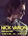 Anamma BTC presents: NICK VARON Tete A Tete club lounge Bucuresti