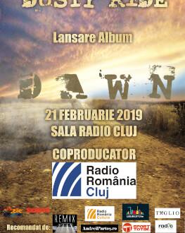 """Concert Dusty Ride Lansare album - """"Dawn"""""""