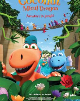 Der kleine Drache Kokosnuss / Coconut, micul dragon - aventuri în junglă
