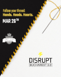 DisruptHR Bucharest 3.0 THE REBELLIOUS FUTURE OF HR - NOT JUST FOR HR PEOPLE