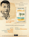 Guadalajara, volumul de povestiri cu care debutează Iulian Popa, lansat în librăria Humanitas de la Cișmigiu Invitați: Iulian Popa, Luminița Corneanu, Nona Rapotan, Andreea Răsuceanu