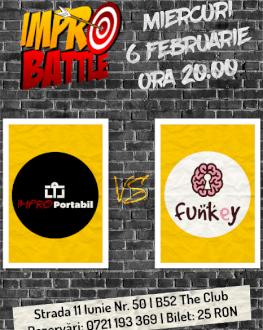 Impro Battle - Impro Portabil vs. Trupa FunKey