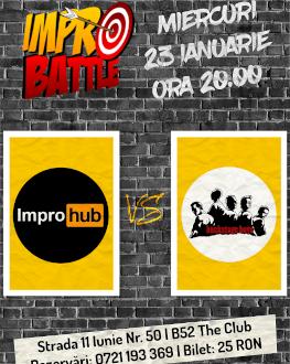 Impro Battle - ImproHub vs. Backstage Boys