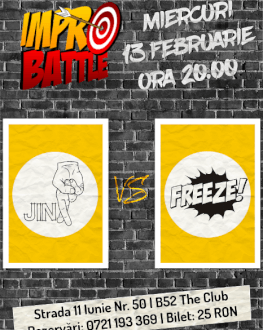 Impro Battle - Jinx vs. Trupa Freeze