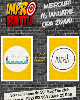 Impro Battle - Trupa íELE vs. Recul