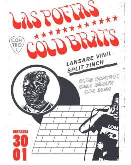 Las Poftas si Cold Brats Concert Lansare Vinil