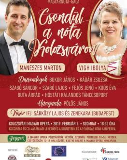Csendül A Nóta Kolozsváron / Răsună Muzica La Cluj Lemezbemutató Magyarnóta Gála /Gală de Muzică Maghiarã