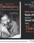 Radu Paraschivescu și Sever Voinescu despre Iubirile lui Hemingway povestite de el însuși și consemnate de A. E. Hotchner marți, 5 martie, ora 19.00, la Librăria Humanitas de la Cișmigiu