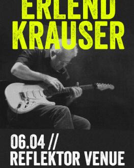 Concert Erlend Krauser - Discover Home live