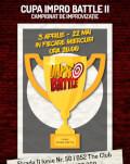 Abonament Sferturi Cupa Impro Battle - ediția a 2-a