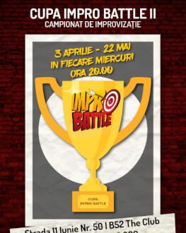 Abonament Sferturi și Semifinale Cupa Impro Battle - ediția a 2-a