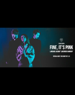 Fine, It's Pink live