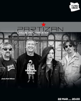 "Partizan - Lansare Vinyl ""Timpuri Noi"""