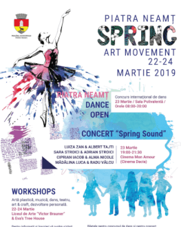 "Concert ""Spring Sound"" Piatra Neamț Spring Art Movement"