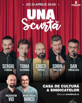 Turneu național Emisiunea ' Una Scurtă' - Alba-Iulia