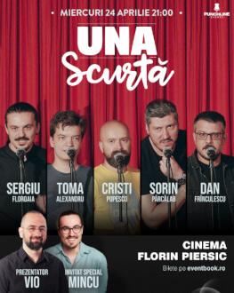 Turneu național Emisiunea ' Una Scurtă' - Cluj-Napoca [SOLD OUT]