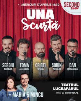 Turneu național Emisiunea ' Una Scurtă' - Iași Second Show