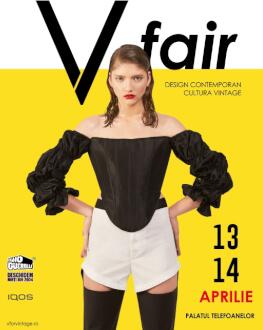 V fair #22 – târg de design contemporan și cultură vintage