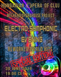 Electro-Symphonic Evening - JUNIUS (EVADZARO ELOADAS) Weekend Operahouse Project