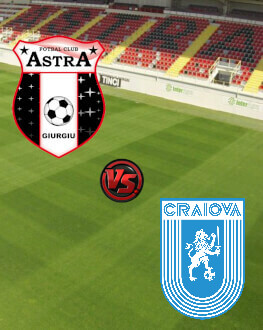 Astra Giurgiu - Universitatea Craiova PlayOff - Etapa 6