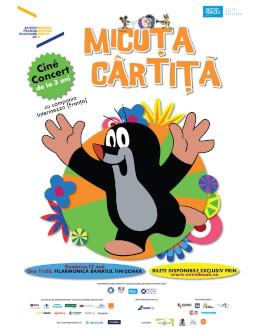 MICUȚA CÂRTIȚĂ - CINE-CONCERT: filme de animație acompaniate de muzică live Trupa « INTERMEZZO » (Franța)