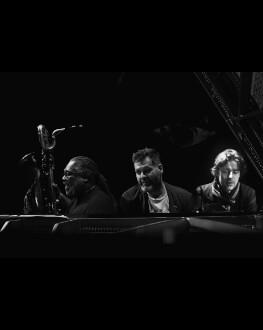 Concert Lucian Ban, Alex Harding si Benoit Delbecq