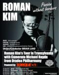 Roman Kim la Oradea - Filarmonica de Stat Passion without borders