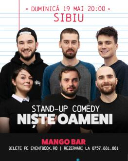 Stand Up Comedy cu Niste Oameni in Sibiu