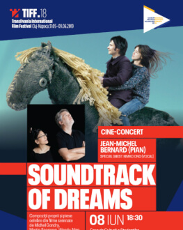 Cine-concert Soundtrack of Dreams Accompanied live by Jean-Michel Bernard
