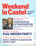 """CoinCoin & The Extra-Humans"" & FULL MOON Party Weekend at The Castle"