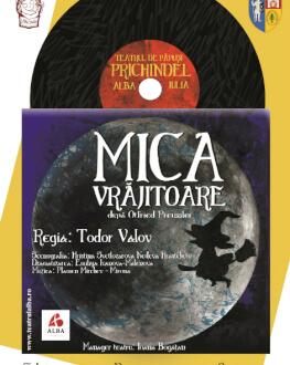 """Mica vrăjitoare Festivalul internațional de teatru pentru copii """"Arlechino - Caravana Poveștilor"""""""