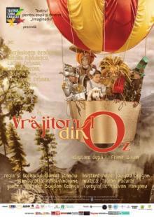 """Vrăjitorul din oz Festivalul internațional de teatru pentru copii """"Arlechino - Caravana Poveștilor"""""""