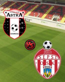 Astra Giurgiu - Sepsi OSK Sf Gheorghe PlayOff - Etapa 10
